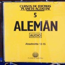 Libros: CURSO ALEMÁN PLANETA AGOSTINI – CD 5. Lote 284511988