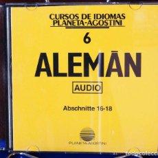 Libros: CURSO ALEMÁN PLANETA AGOSTINI – CD 6. Lote 284512048