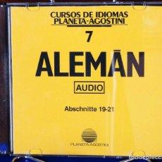 Libros: CURSO ALEMÁN PLANETA AGOSTINI – CD 7. Lote 284512118