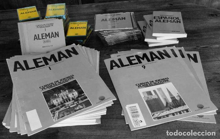 CURSO ALEMÁN PLANETA AGOSTINI – LOTE DE 12 CASETES (Libros Nuevos - Idiomas - Alemán )