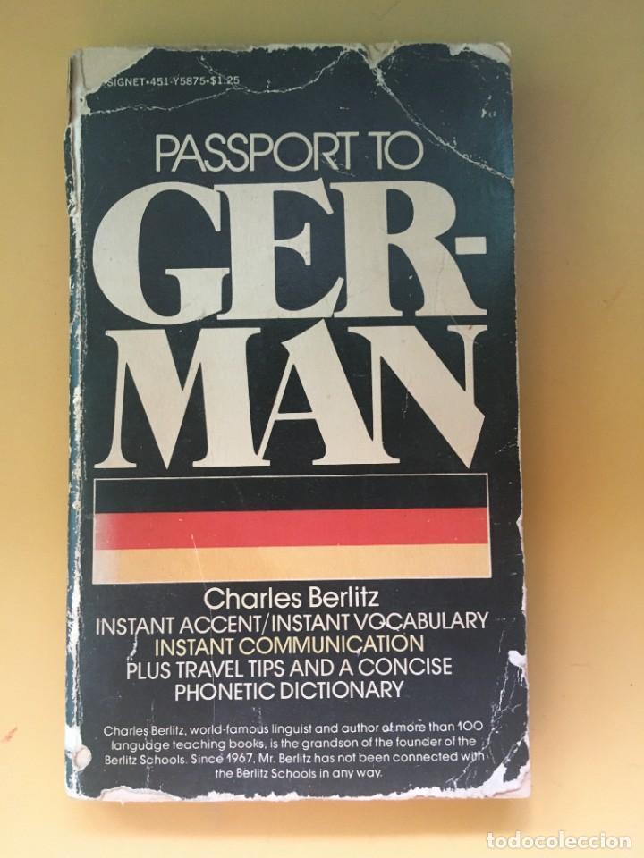 PASTPORT TO GERMAN CHARLES BERLITZ (Libros Nuevos - Idiomas - Alemán )