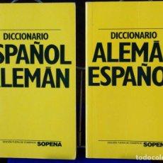 Libros: CURSO ALEMÁN PLANETA AGOSTINI – DICCIONARIOS ESPAÑOL-ALEMÁN Y ALEMÁN-ESPAÑOL. Lote 289599103