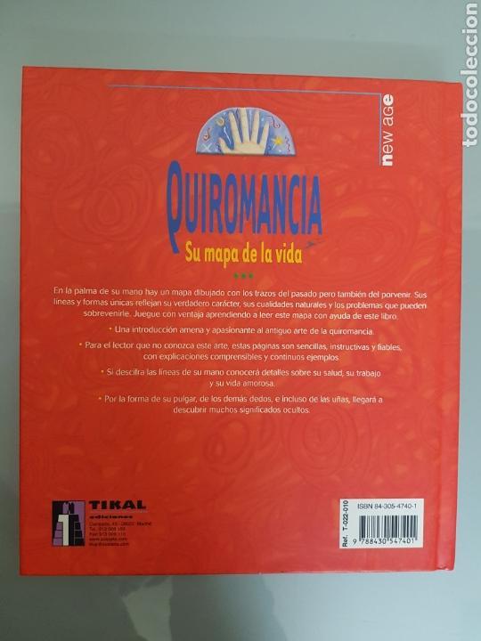 Libros: QUIROMANCIA SU MAPA DE LA VIDA HAZ EL WHITAKER TIKAL EDIC. MUY RARO - Foto 2 - 112813184