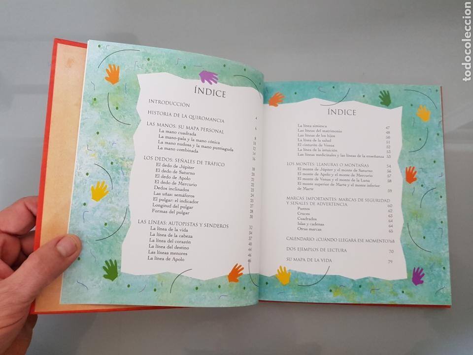 Libros: QUIROMANCIA SU MAPA DE LA VIDA HAZ EL WHITAKER TIKAL EDIC. MUY RARO - Foto 5 - 112813184