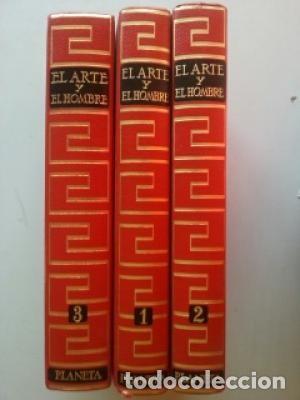 EL ARTE Y EL HOMBRE - 3 TOMOS (Libros Nuevos - Ciencias, Manuales y Oficios - Anatomía )