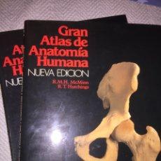 Libros: GRAN ATLAS DE ANATOMÍA HUMANA 1 Y 2 NUEVA EDICIÒN. Lote 184399305