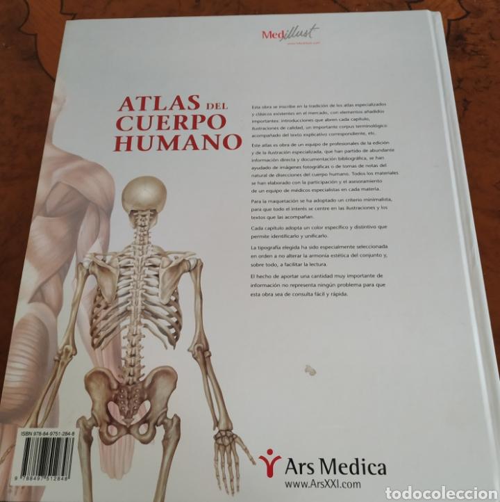 Libros: Atlas del Cuerpo Humano ARS XXI - Foto 3 - 191719476