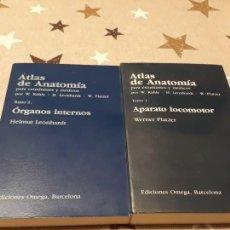 Libros: ATLAS DE ANATOMIA HUMANA PARA ESTUDIANTES Y MEDICO. Lote 193416037