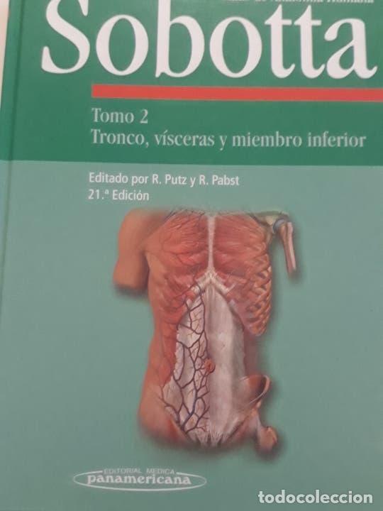 ATLAS DE ANATOMIA HUMANA SOBOTTA (Libros Nuevos - Ciencias, Manuales y Oficios - Anatomía )
