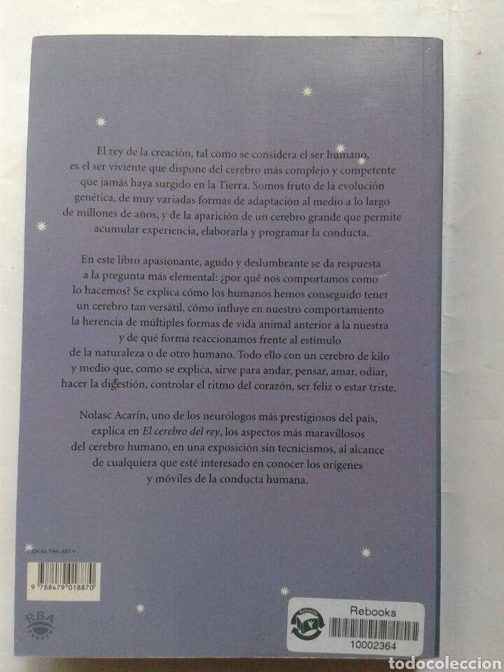 Libros: EL CEREBRO DEL REY - NOLASC ACARIN - Foto 2 - 209142396