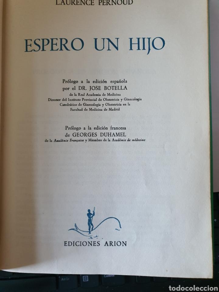 Libros: Espero un hijo , el amigo y consejero de la futura mamá, de Ediciones Arion - Foto 2 - 217773815