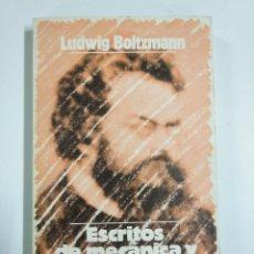 Libros: ESCRITOS DE MECÁNICA Y TERMODINÁNICA ED, ALIANZA. Lote 221470453
