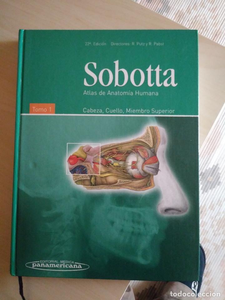 ATLAS DE ANATOMÍA HUMANA SOBOTTA TOMOS 1 Y 2 , 22 ED. (Libros Nuevos - Ciencias, Manuales y Oficios - Anatomía )