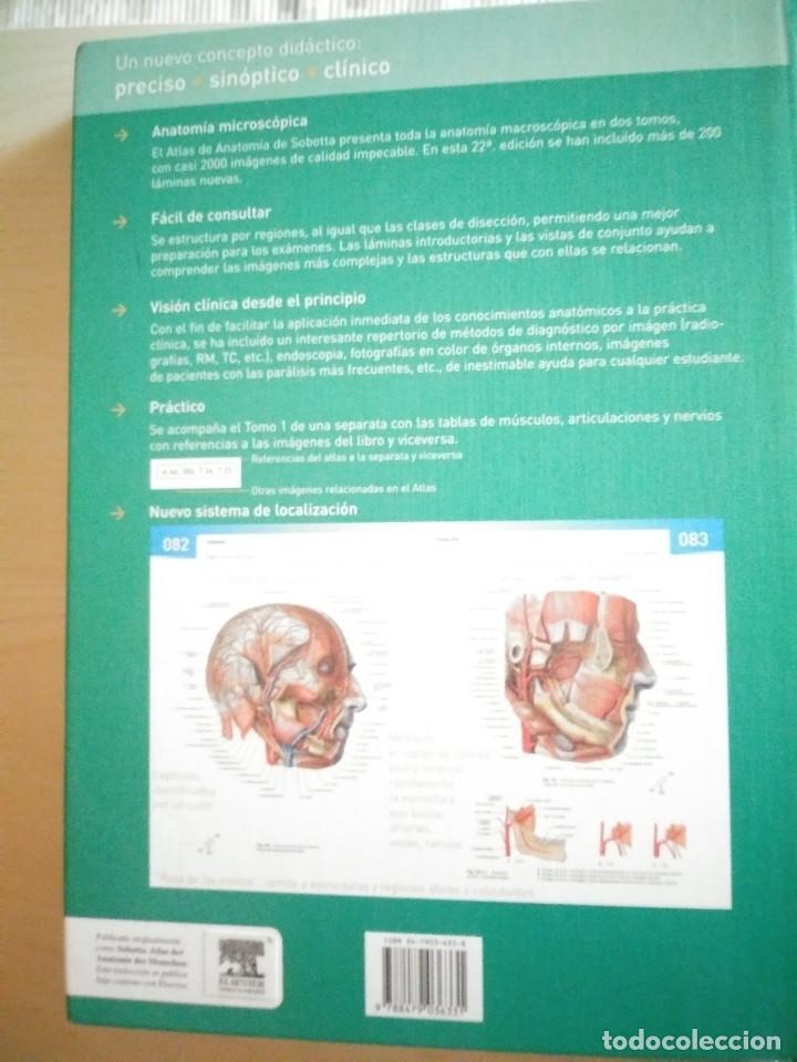 Libros: ATLAS DE ANATOMÍA HUMANA SOBOTTA TOMOS 1 Y 2 , 22 Ed. - Foto 5 - 225578895