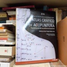 Livros: ATLAS GRÁFICO DE ACUPUNTURA. Lote 229560785