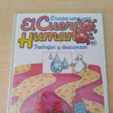 Libros: ERASE UNA VEZ EL CUERPO HUMANO N 45. NUEVO. Lote 230973845
