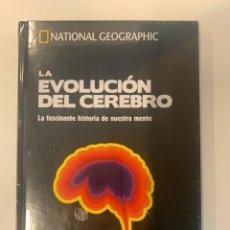 Libros: LA EVOLUCIÓN DEL CEREBRO COLECCIÓN NATIONAL GEOGRPAHIC - NUEVO. Lote 241024670