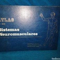 Livros: ATLAS DE LOS SISTEMAS NEUROMUSCULARES, DEPARTAMENTO DE ANATOMÍA, FACULTAD DE MEDICINA, MÁLAGA. Lote 246792930