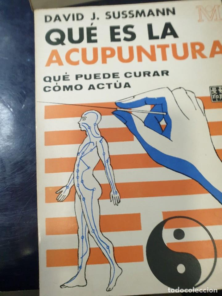 QUE ÉS LA ACUPUNTURA QUE PUEDE CURAR COMO ACTÚA DAVID J, SUSSMAN (Libros Nuevos - Ciencias, Manuales y Oficios - Anatomía )
