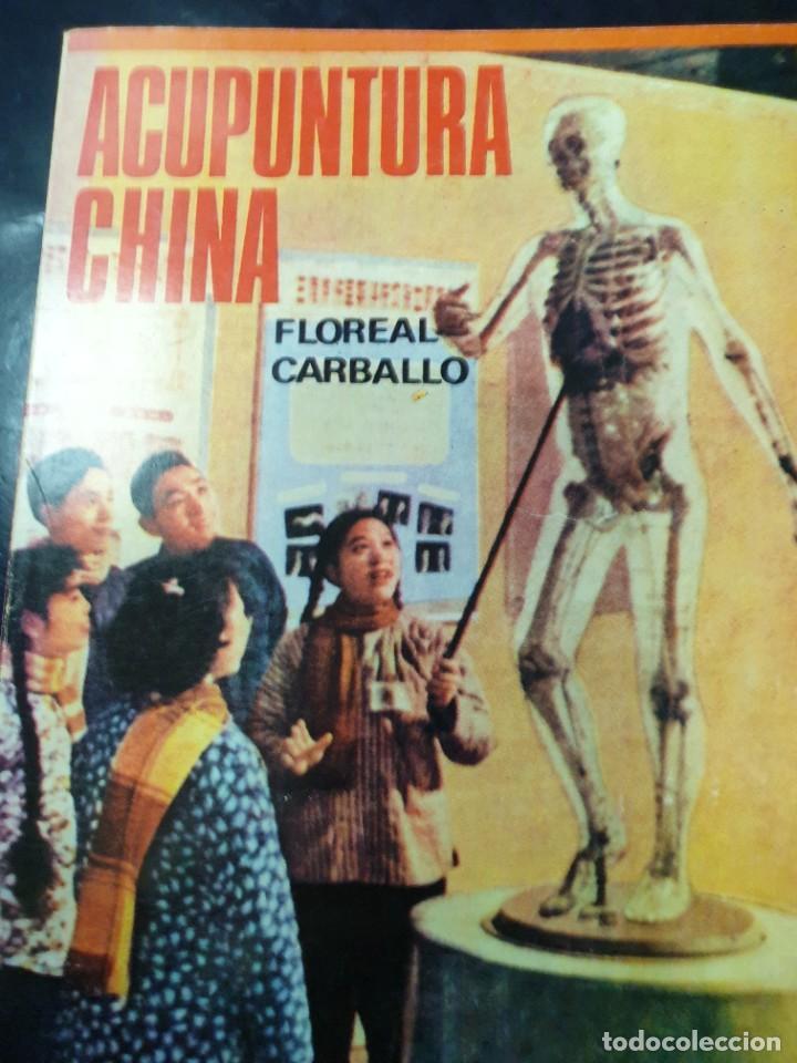 ACUPUNTURA CHINA FLOREAL CARBALLO (Libros Nuevos - Ciencias, Manuales y Oficios - Anatomía )
