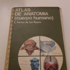 Livros: ATLAS DE ANATOMIA (CUERPO HUMANO), DE E. FERRAN DE LOS REYES. Lote 255465245