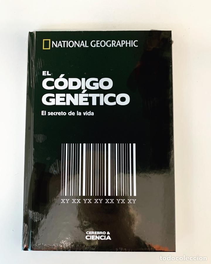 EL CÓDIGO GENÉTICO COLECCIÓN CEREBRO NATIONAL GEOGRAPHIC (Libros Nuevos - Ciencias, Manuales y Oficios - Anatomía )