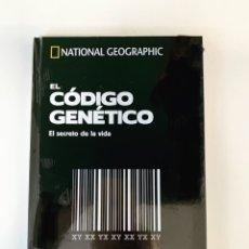 Libros: EL CÓDIGO GENÉTICO COLECCIÓN CEREBRO NATIONAL GEOGRAPHIC. Lote 264166612