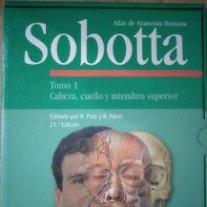 Libros: ATLAS DE ANATOMÍA HUMANA SOBOTTA. NUEVO A ESTRENAR.. Lote 264553789
