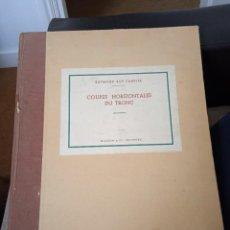Libros: LIBRO COUPES HORIZONTALES DU TRONC. Lote 269298788