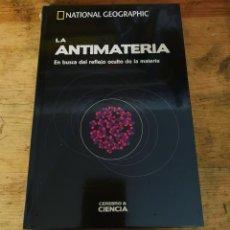 Livros: COLECCIÓN CIENCIA Y CEREBRO LA ANTIMATERIA- NUEVO. Lote 280137403