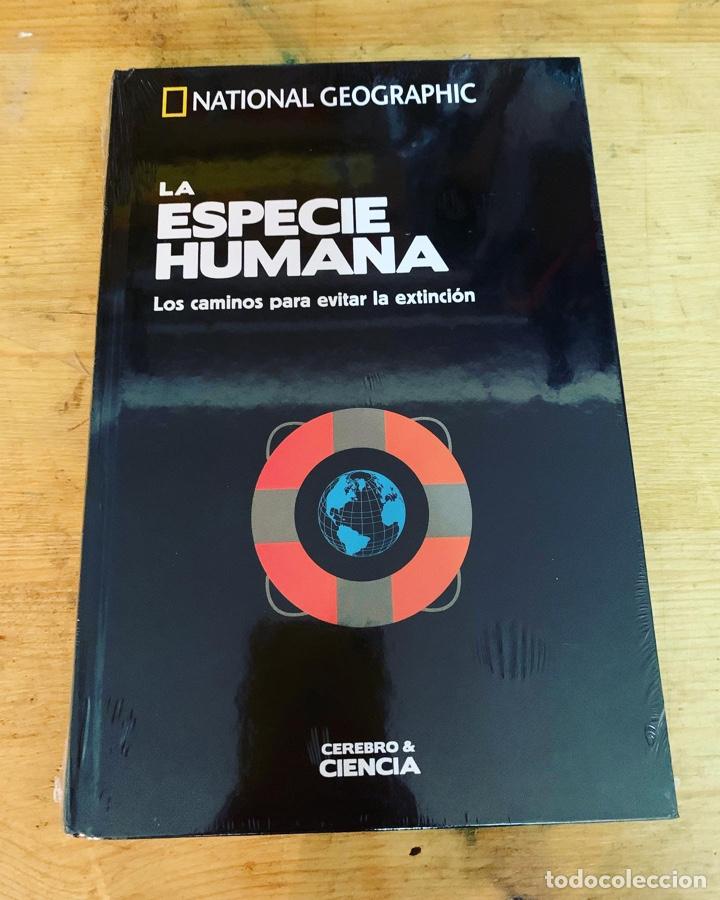 COLECCIÓN CEREBRO Y CIENCIA DE NATIONAL GEOGRAPHIC - LA ESPECIE HUMANA (Libros Nuevos - Ciencias, Manuales y Oficios - Anatomía )
