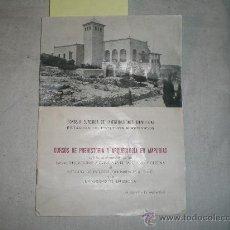 Libros antiguos: CURSO DE PREHISTORIA Y ARQUEOLGÍA EN AMPURIAS, IMP. HERALDO DE ARAGÓN. Lote 18754225