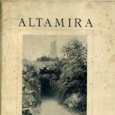 Libros antiguos: OBERMAIER : ALTAMIRA (1929). Lote 34234276
