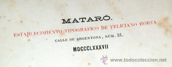 Libros antiguos: estudios historico-arqueologicos sobre iluro, 1888, media piel, mirar fortos - Foto 2 - 36664951