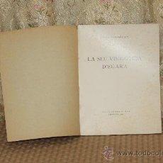Libros antiguos: 3169- LA SEU VISIGOTICA D'EGARA. J. PUIG I CADAFALCH. EDIT. INSTITUT D'ESTUDIS CATALANS. 1936.. Lote 37230386