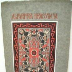 Libros antiguos: ALFARERIA - ARGENTINA - BOMAN / GRESLEBIN - 1923. Lote 37785032