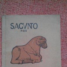 Libros antiguos: 1930 SAGUNTO LA ACROPOLI EXCAVACIONES Y TEATRO ROMANO GONZALEZ SIMANCAS, 1ª EDIC. NUEVO VALENCIA. Lote 39791607