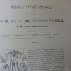 Libros antiguos: MEDALLAS NAVALES ESPAÑOLAS. Lote 43362609