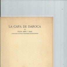 Libros antiguos: LA CAPA DE DAROCA - NIÑO Y MAS, FELIPA - ZARAGOZA. Lote 44025974