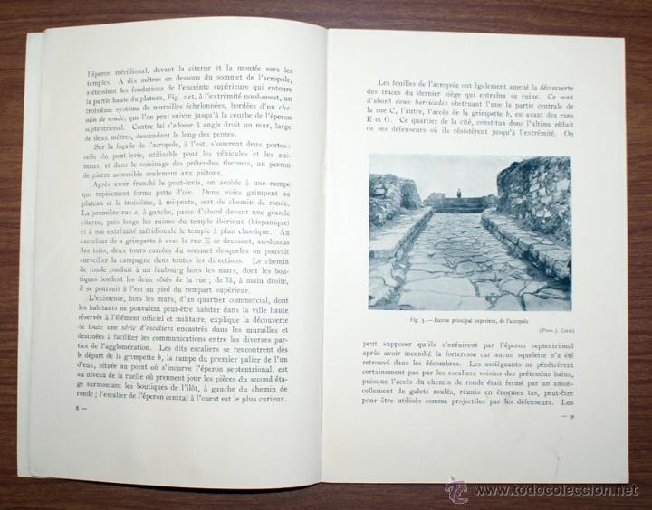 Libros antiguos: Azaila. IV Congrès International D'Archéologie. Barcelona. 1929. Juan Cabré Aguiló - Foto 2 - 45892821