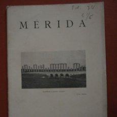 Libros antiguos: MÉRIDA. JOSÉ R. MÉLIDA. Lote 46133228