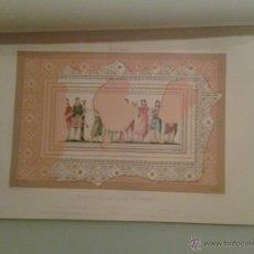 Libros antiguos: 1872 - ITALICA. DESCRIPCION DEL MOSAICO DE LAS MUSAS, DESCUBIERTO EN 1839 - SEVILLA. Lote 47327462