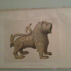Livres anciens: 1872 - LEON DE BRONCE ENCONTRADO EN TIERRA DE PALENCIA - AMADOR DE LOS RÍOS, RODRIGO. Lote 47384109