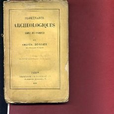 Libros antiguos: BOISSIER,GASTON,, PROMENADES ARCHEOLOGIQUES ROME ET POMPEI ,1880. Lote 47412446