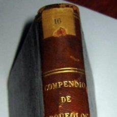 Libros antiguos: COMPENDIO DE ARQUEOLOGÍA -BASILIO SEBASTIAN - MADRID 1844. Lote 48581832
