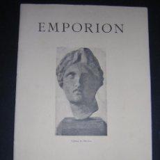Libros antiguos: 1929 - BOSCH GIMPERA - EMPORION - IV CONGRESO INTERNACIONAL DE ARQUEOLOGÍA. Lote 80800919