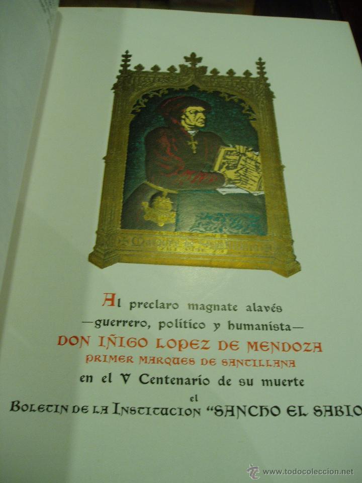 Libros antiguos: BOLETÍN DE LA INSTITUCIÓN SANCHO EL SABIO AÑO II TOMOII NÚM. 1 1958 - Foto 2 - 50293163