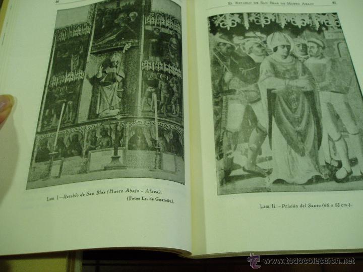 Libros antiguos: BOLETÍN DE LA INSTITUCIÓN SANCHO EL SABIO AÑO II TOMOII NÚM. 1 1958 - Foto 4 - 50293163