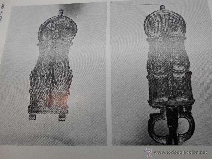Libros antiguos: PEDRO DE PALOL: EXCAVACIONES EN LA NECROPOLIS DE SAN JUAN DE BAÑOS (PALENCIA) MEMORIA CON UN ESTUDIO - Foto 2 - 50893646
