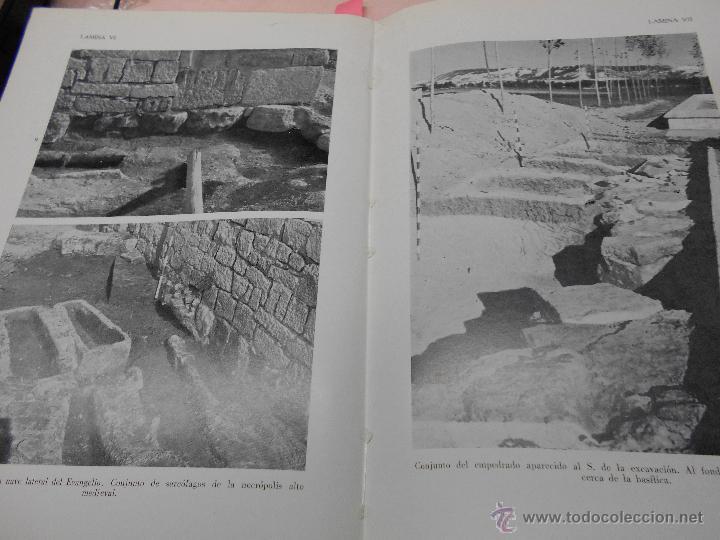 Libros antiguos: PEDRO DE PALOL: EXCAVACIONES EN LA NECROPOLIS DE SAN JUAN DE BAÑOS (PALENCIA) MEMORIA CON UN ESTUDIO - Foto 4 - 50893646